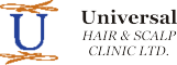 Universal Hair Clinic - logo landscape