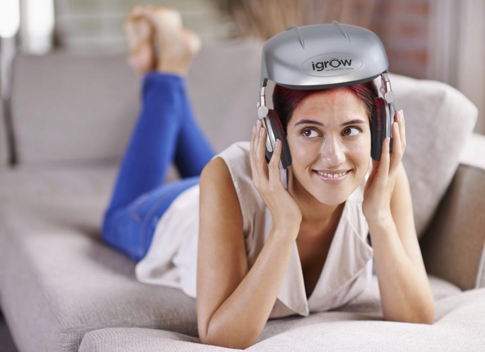 Low Level Light Therapy Helmet to Make Your Hair Grow Back