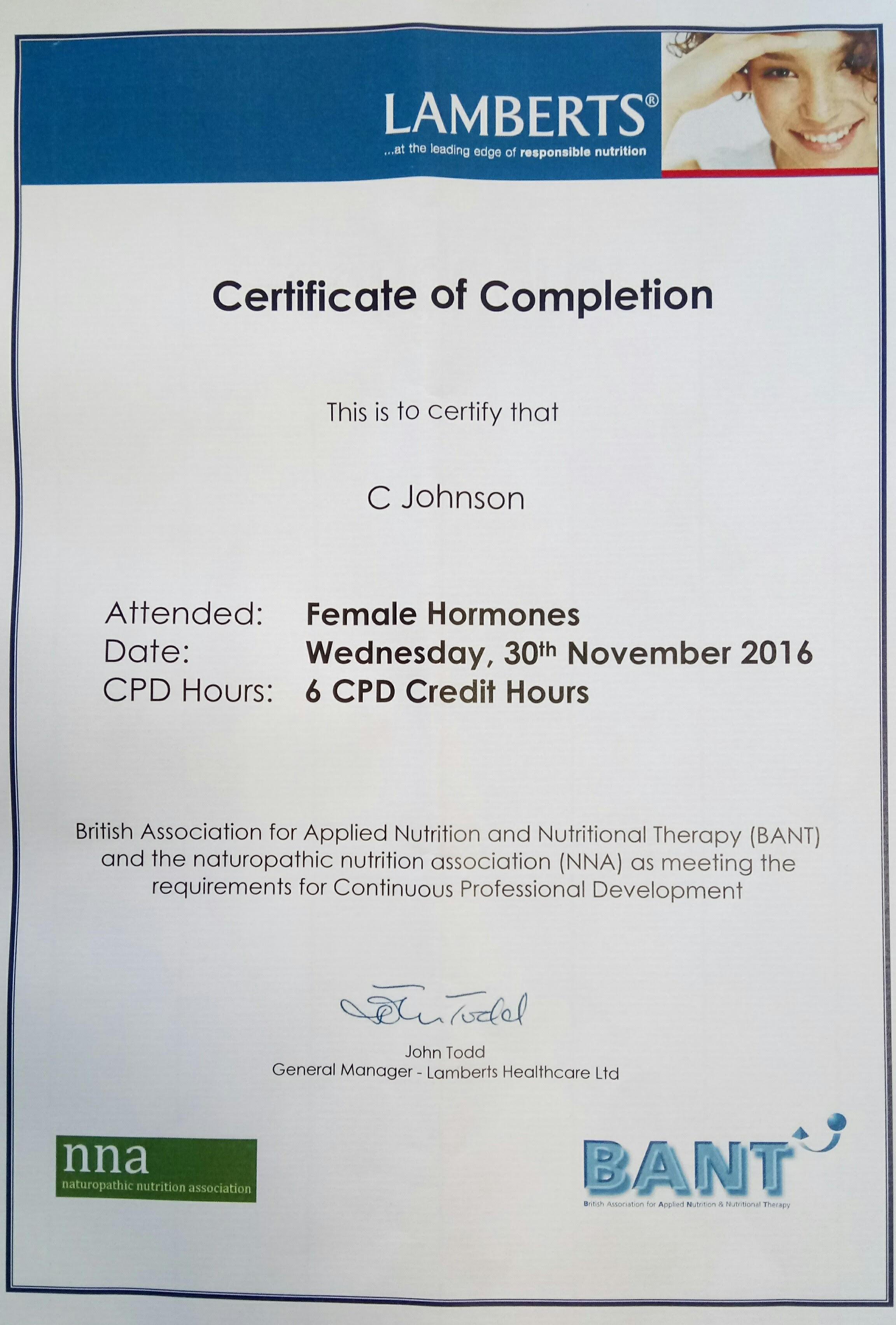 Carol Johnson A Certified Trichologist Universal Hair