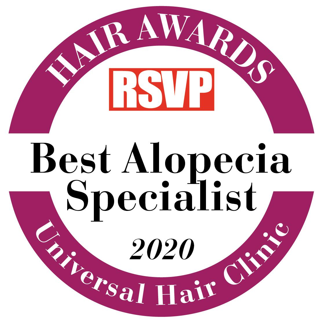Hair Clinic Dublin - Hair Awards 2020