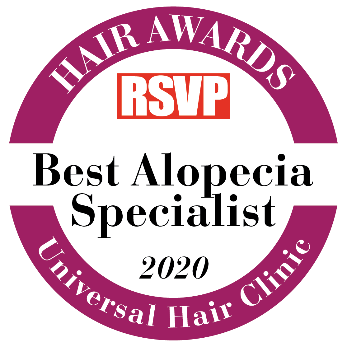 Hair Clinic Dublin - Hair Awards 2020